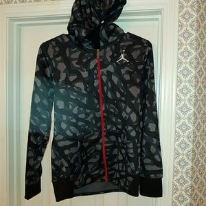 Jordan Camo therma fit boys hoodie